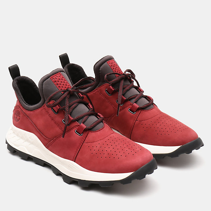 Oxford Brooklyn pour homme en rouge-