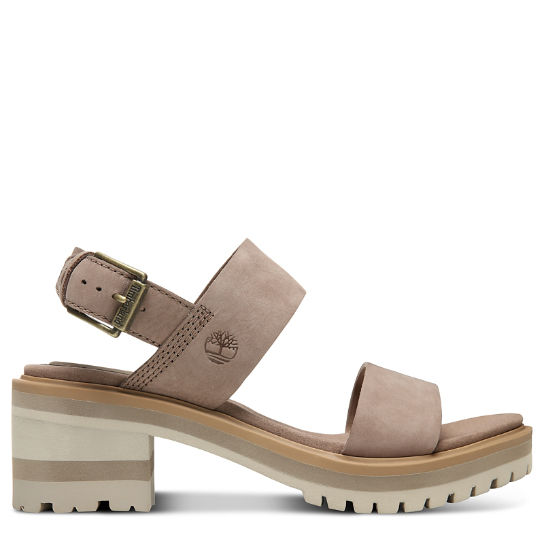 Violet Marsh Strap Sandal for Women in Taupe | Timberland