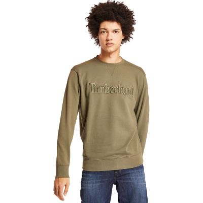 Exeter+River+Crew+Sweatshirt+for+Men+in+Green
