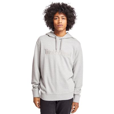 Exeter+River+Cotton+Hoodie+for+Men+in+Grey
