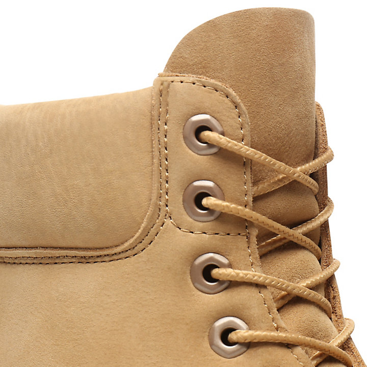 Premium 6 Inch Boot voor heren in Beige-