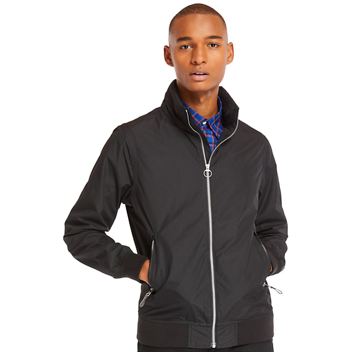 Kearsage Sailor Bomber Jacket for Men in Black-
