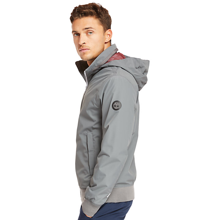Kearsage Sailor Bomber Jacket for Men in Grey-