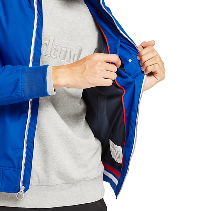 Kearsage Sailor Bomber Jacket for Men in Blue-