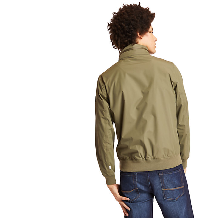 Kearsage Sailor Bomber Jacket for Men in Green-