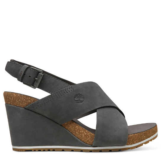 Capri Sunset Sandal for Women in Dark Grey | Timberland
