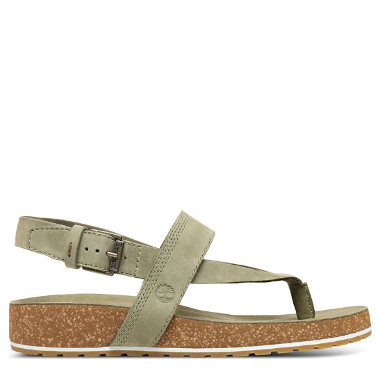 Malibu Waves Thong Sandal for Women in Green | Timberland