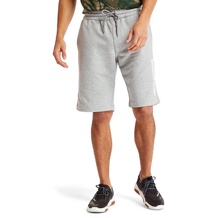 Sweat Short voor Heren in grijs-