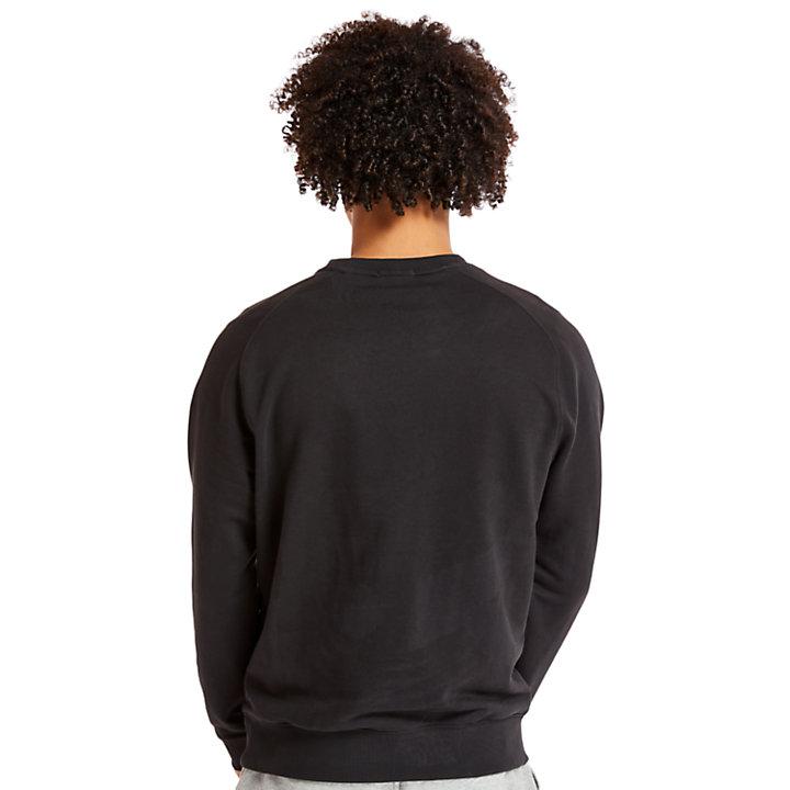 Sudadera Oyster River para Hombre en color negro-