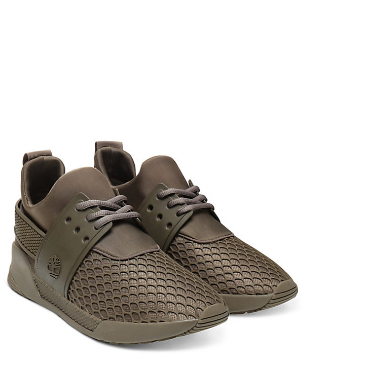 Kiri Up Damensneaker mit Muster in Braun-