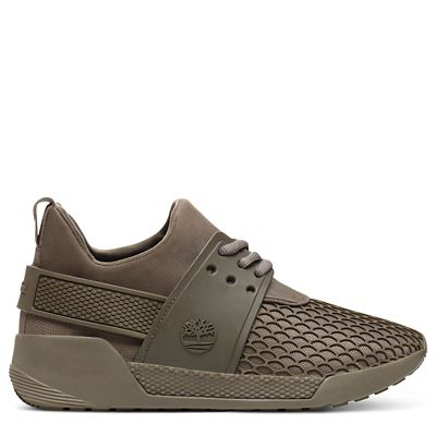 Kiri+Up+Damensneaker+mit+Muster+in+Braun
