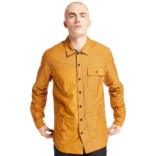 Mascoma River Overshirt for Men in Yellow | Timberland
