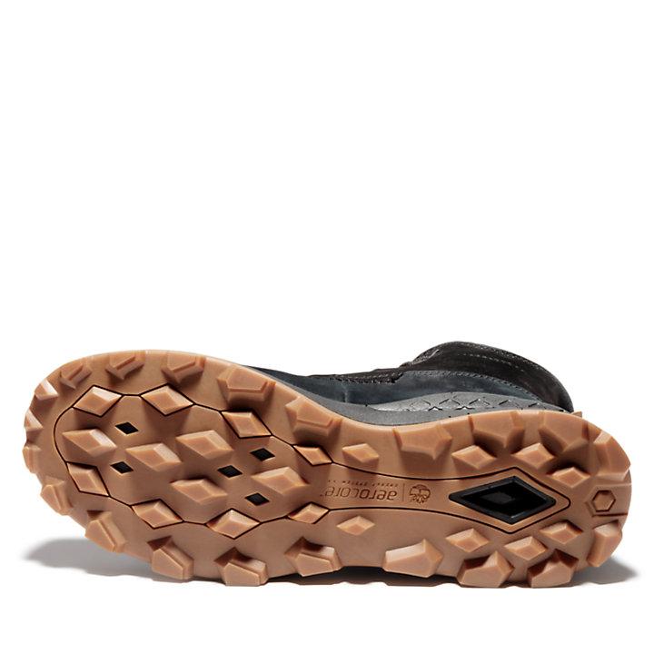 Brooklyn Side Zip Boot for Men in Black-