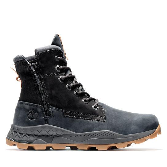 Brooklyn Side Zip Stiefel für Herren in Schwarz