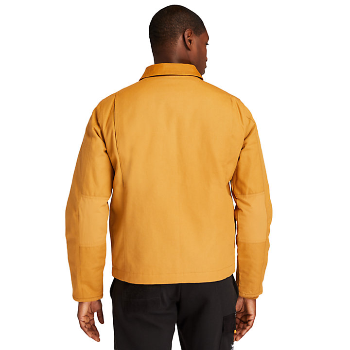 Giacca da Uomo Errand in giallo-