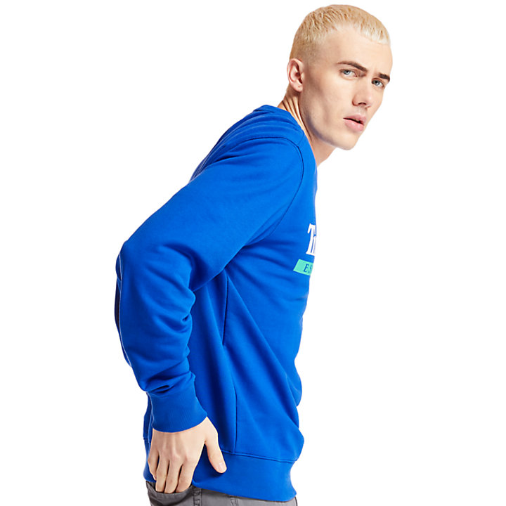Established 1973 Sweatshirt for Men in Blue-