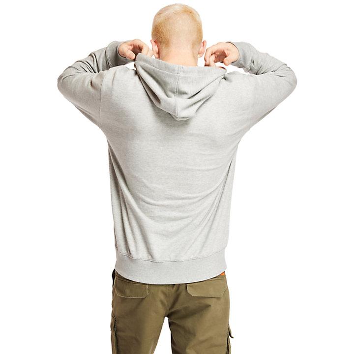 'Established 1973' Hoodie for Men in Grey-