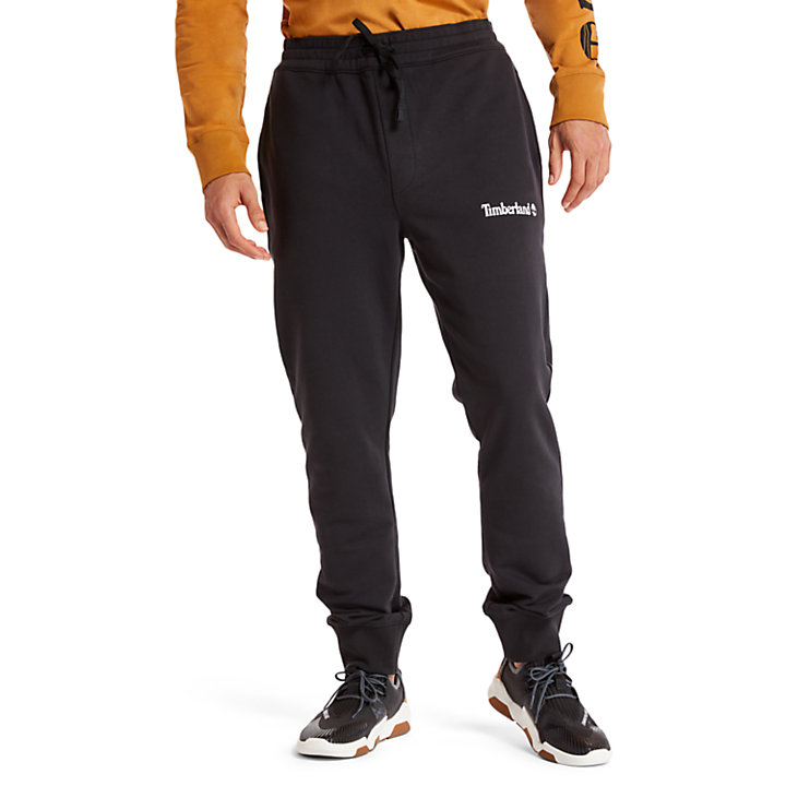 Pantalón de Chándal «Established 1973» para Hombre en color negro-
