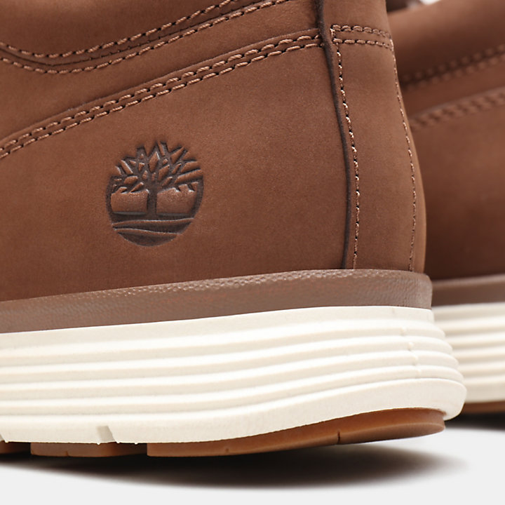 Chukka da Uomo Killington Half Cab in marrone scuro-