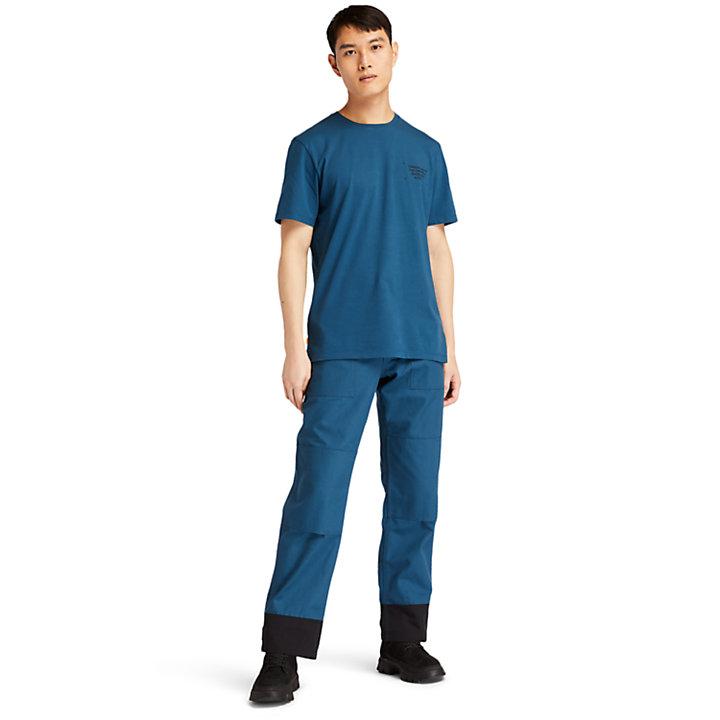 Pantalones Híbridos Progressive para Hombre en azul-