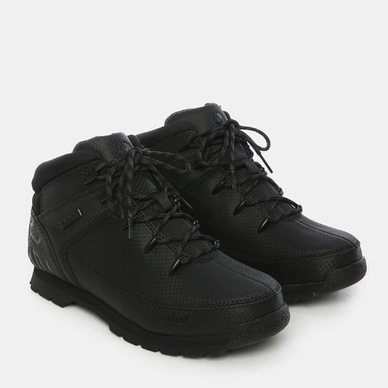 Euro Sprint Hiker for Junior in TecTuff® Black | Timberland