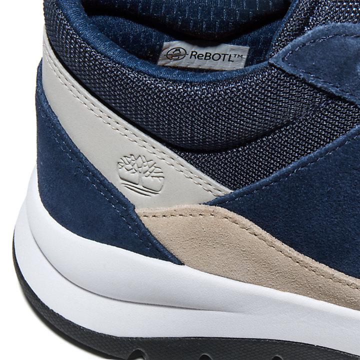 Boroughs Project Sneaker Chukka voor heren in marineblauw-
