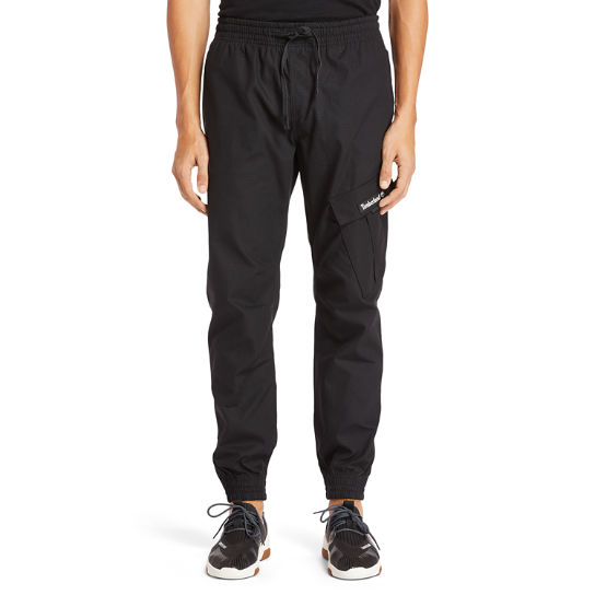 Ripstop Cargo Sweatpants for Men in Black | Timberland