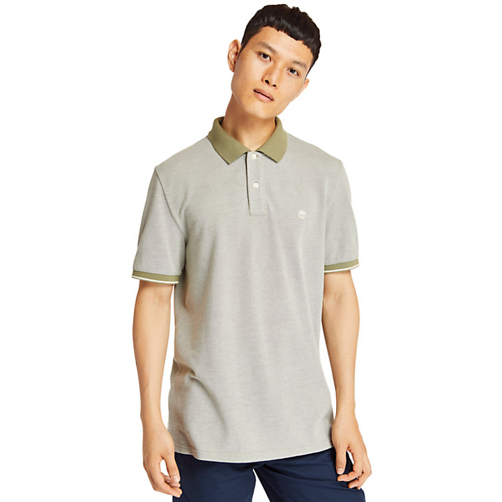Keene River Polo Shirt for Men in Green-