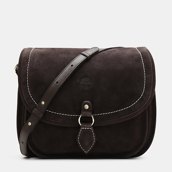 Bolso Saddle Magnolia Harbor para Mujer en marrón oscuro-