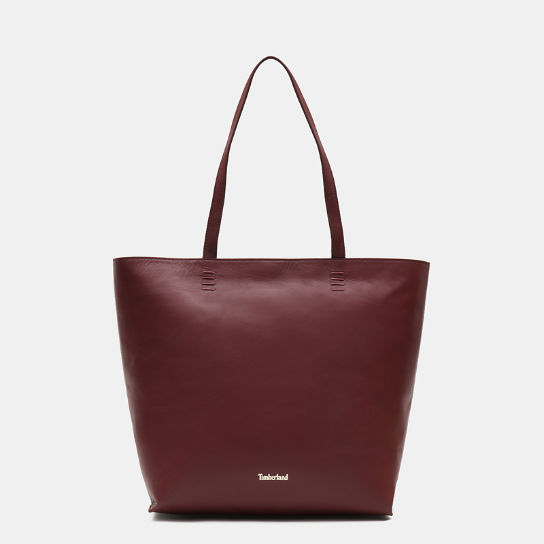 Rosecliff Tote Bag for Women in Burgundy | Timberland