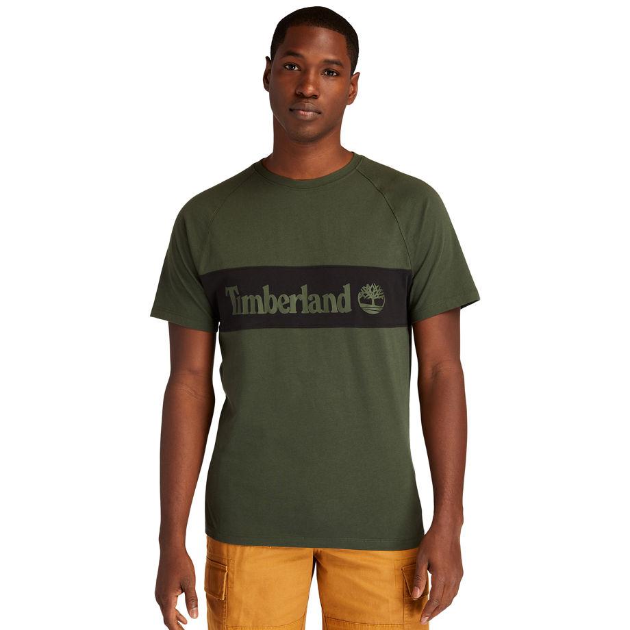 T-shirt Coupé-cousu En Foncé Foncé, Taille M - Timberland - Modalova