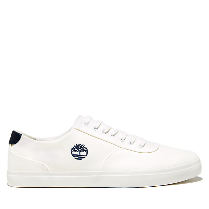 Union Wharf Slip On Trainer for Men in White-
