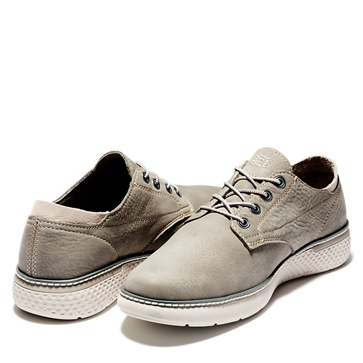 Cross Mark Oxford for Men in Grey-