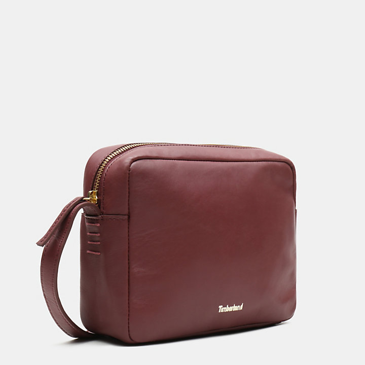 Rosecliff Camera Bag for Women in Burgundy-