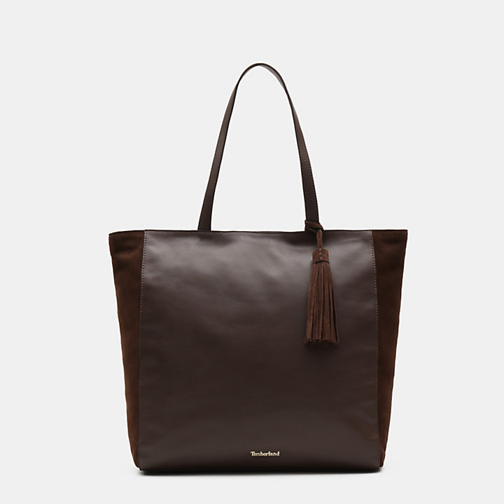Terrace Pines Tote Bag for Women in Brown-