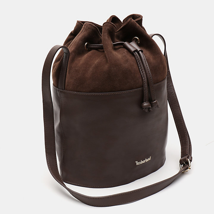 Terrace Pines Bucket Bag for Women in Brown-