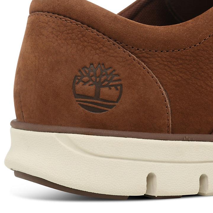 2cb6945d7 Sapato Oxford Bradstreet em Pele para Homem em Castanho-escuro ...
