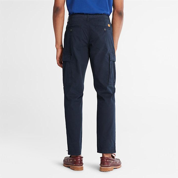 Core Twill Cargo Pants for Men in Navy-