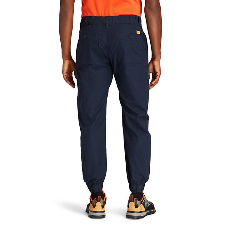 Pantaloni da Uomo Ripstop Climbing in blu marino-