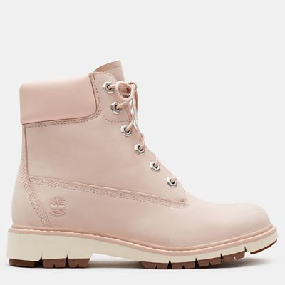 Lucia+Way+6+Inch+Boot+for+Women++in+Light+Pink