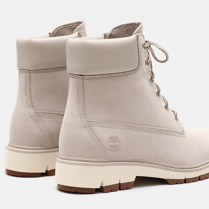 Lucia Way 6 Inch Boot voor Dames in lichtgrijs-