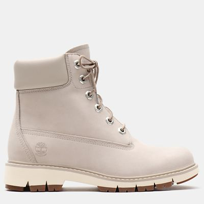 Lucia+Way+6+Inch+Boot+for+Women++in+Light+Grey