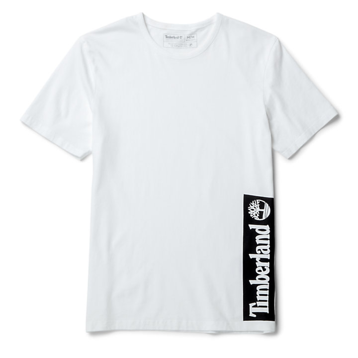Established 1973 T-Shirt for Men in White-