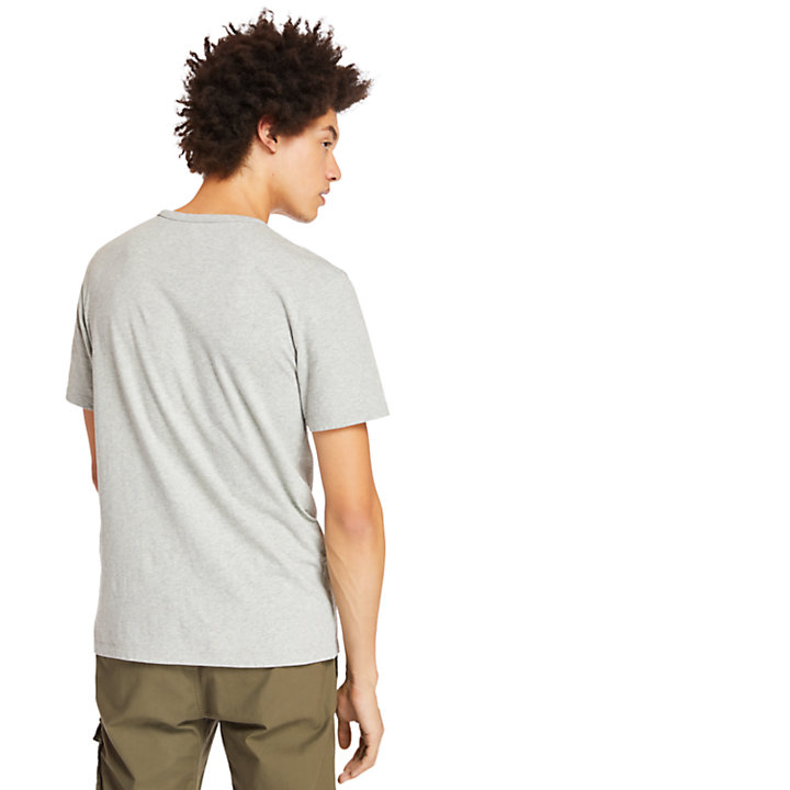 T-shirt Established 1973 pour homme en gris-