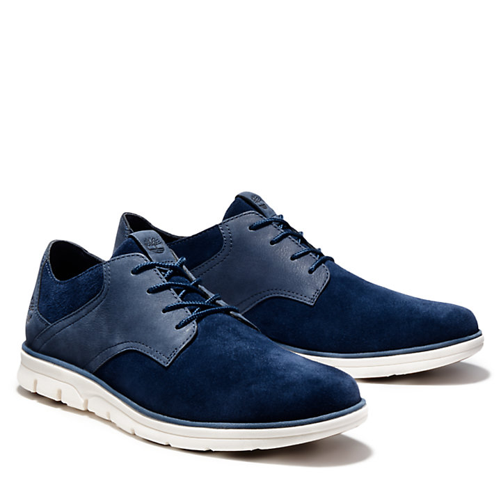 Bradstreet Oxford-Herrenschuh in Navyblau-