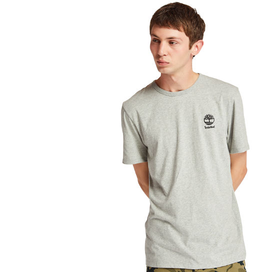 Rectangle Graphic T-Shirt for Men in Grey | Timberland