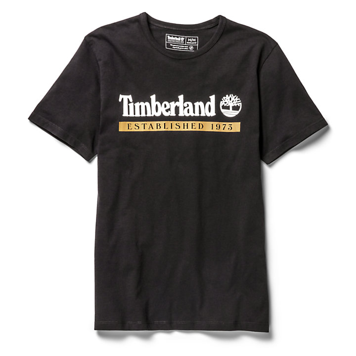 Timberland® 1973 T-Shirt for Men in Black-