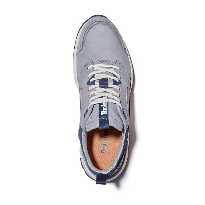 Tree Racer Leather Sneaker for Men in Grey-