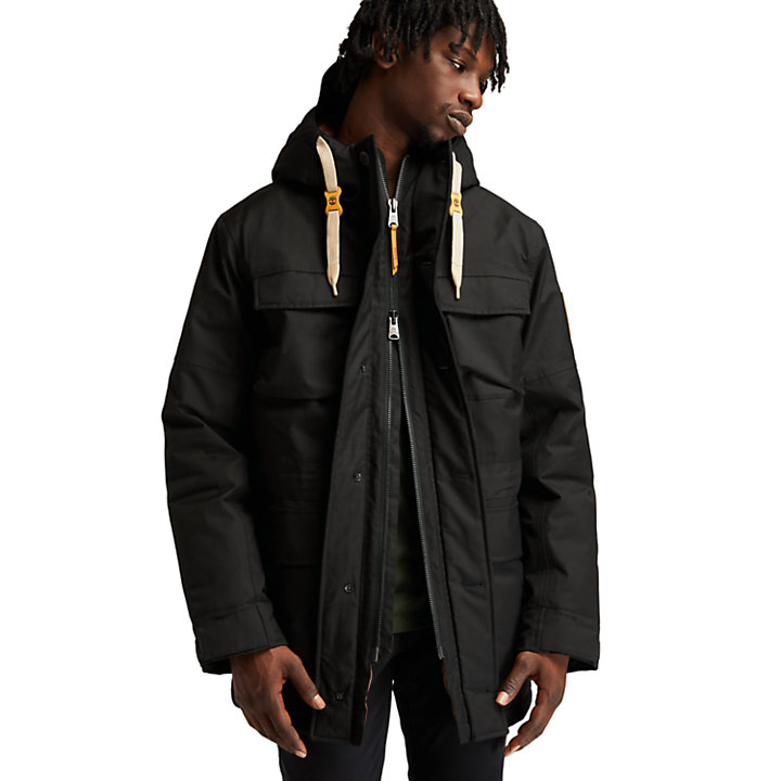Parka DryVent™ Wilmington para Hombre en color negro-