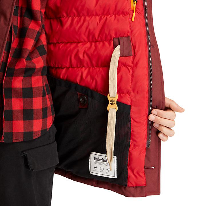 Parka Wilmington DryVent™ pour homme en rouge-